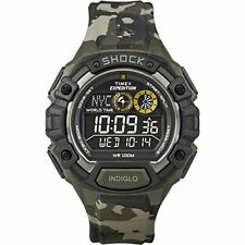 Timex Men's Expedition Global Shock Negative Display Camo Watch T49971