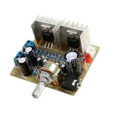 Electronic DIY Kit Set 2.0 Dual-Channel TDA2030A Power Amplifier Module