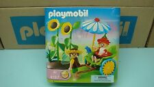 Playmobil 4197 Rickshaw wheelbarrow magical series sunflower set 177 toy
