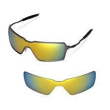 New WL Polarized 24K-Gold Replacement Lenses For Oakley Probation Sunglasses