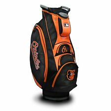NEW MODEL! Team Golf Baltimore Orioles Victory Cart Golf Bag Black/Orange 95273