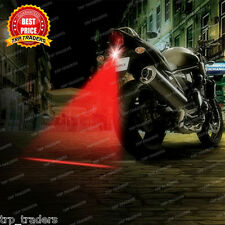 Universal Car/Bike Red LED DRL Laser Fog Multi-Purpose Safety/Warning Tail Light