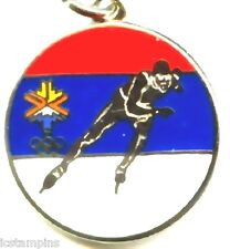 "2002 Olympic ""USA SPEED SKATING"" Charm"
