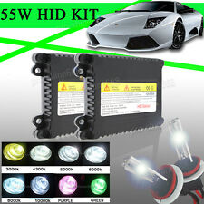 Set Xenon Hid Conversion Kit Replacement Bulb 55W H7 6K For Ford Fiesta Mk 7 #