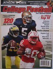 Notre Dame Manti Te'o 2011 Athlon Sports College Football Wisconsin Michigan