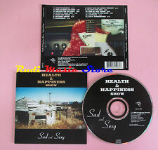 CD HEALTH & HAPPINESS SHOW Sad and sexy 1999 CROP DUSTER 06(Xs8) lp mc dvd
