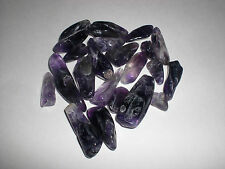 Lot of 100% Natural Large2 Amethyst Quartz Crystal Rock Chips 50g - New