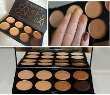 Makeup revolution cover & conceal palette medium-dark FREE P&P CREAM CONCEALER
