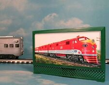 MKT FRISCO TEXAS SPECIAL MODEL RAILROAD LIGHTED BILLBOARD AD for LIONEL O TRAINS