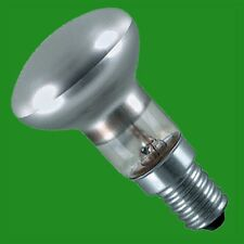 2x 40W R50 Dimmable Pearl Reflector Spot Lights, Lava Lamp Bulbs, SES E14 Lamps