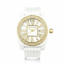 Holler Philly Glitz White Ladies Watch HLW2171-2 2171-2 Brand New in Box
