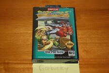 Street Fighter II Special Champion Edition (Sega Genesis) NEW SEALED HARDCASE!