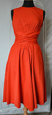 Hobbs Twitchill Dress, Size 8, red NEW
