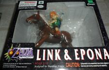 Legend of Zelda Majora's Mask Link and Epona Figures NEW Nintendo 64 3DS Vintage