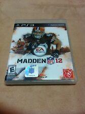 Madden NFL 12 PS3 - Game W/ Case