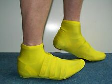 Lycra Time Trial Overshoe Flo Yellow  Size S