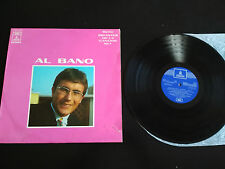 "AL BANO GIGANTES DE LA CANCION VOL IV LP 12"" G+/G+ ODEON SPANISH EDITION 1970"