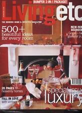 LIVING ETC MAGAZINE - December/January 2001