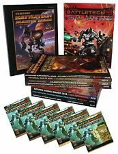BUNDLE-16 x BATTLETECH- KARTENSET-TECHNICAL READOUT-MINIATURES-TOTAL WARFARE
