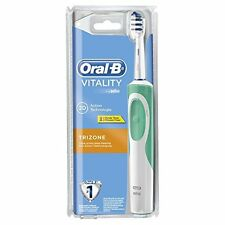 Braun Oral-B Vitality Trizone Rechargeable Electric Toothbrush 2 Minute Timer