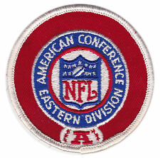 "1970'S AFC EASTERN DIVISION NFL FOOTBALL 3"" LEAGUE LOGO PATCH"