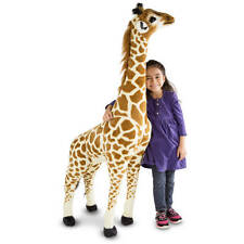 Giant Melissa & Doug Stuffed Giraffe Plush Animal Toy Child Nursery Kid 5 feet