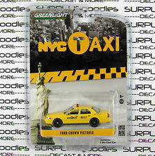 GREENLIGHT 1:64 Scale Hobby Exclusive FORD CROWN VICTORIA New York NYC TAXI CAB