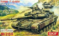 T-64 BV - COLD WAR ERA SOVIET MBT W/REACTIVE ARMOUR 1/35 SKIF RARE