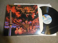 Merry Christmas Mr. Laurence Soundtrack LP starring David Bowie Ryuichi Sakamoto