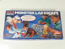 rare Monster Lab Escape board game Mad Scientist 1987 Mattel 4653 parts complete