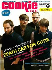 Cookie Scene Vol. 61 2008 Death Cab for Cutie Fountains of Wayne Japanese Japan