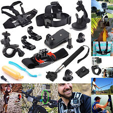 12 in 1 Mount Kit Set Floating Monopod Accessories For GoPro Hero 4 3 2 1 Camera