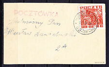 (PL) Polish Officers POW Camp Woldenberg Fi 36 on postcard expertised by Korszen