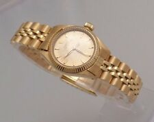 Vintage ROLEX LADIES 18k SOLID GOLD OYSTER PERPETUAL, AUTOMATIC: Excellent