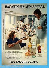 QUATTROR982-PUBBLICITA'/ADVERTISING-1982- BACARDI RUM
