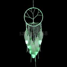 GLOW IN DARK Tree of Life Net Dreamcatcher Car Home Decor Hanging Ornament