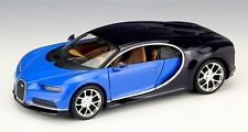 Bburago 1:24 Bugatti Chiron Diecast Metal Model Roadster Car Vehicle Blue New
