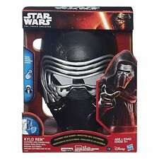 Star Wars The Force Awakens Kylo Ren Electronic Voice Changer Mask, NEW / MINT!