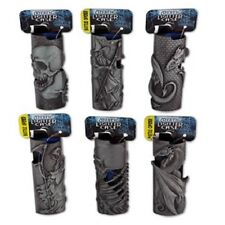 MYSTIC BIC LIGHTER CASE - ONE COVER WITH DESIGN AND COLOR MAYBE VARY