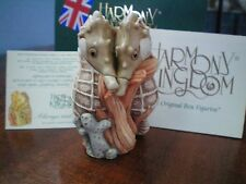 Valentine Romance Annual Harmony Kingdom Always & Forever Seahorses UK Made NIB