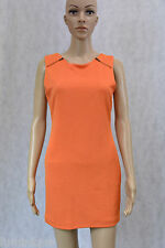 **MINKPINK** BNWT $80 Orange Dress M 12 10 Sheath Zipper Office Party Career