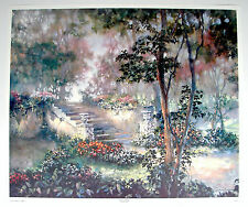 """Susan Colclough Listed Tennessee Artist """"Once in a Dream"""" Signed/Number Lith"""