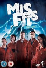 MISFITS MIS FITS COMPLETE SERIES 5 DVD All Episodes from 5th Season New Sealed