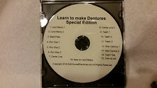 Learn How to Make Your Own Dentures - Special Edition Dvd & Kit