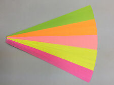 80 pcs double sided lucky star Origami folding paper, 5 colors.