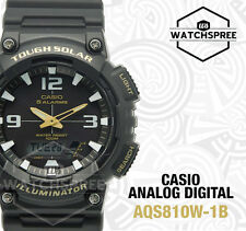 Casio Analog Digital Tough Solar Watch AQS810W-1B AQ-S810W-1B