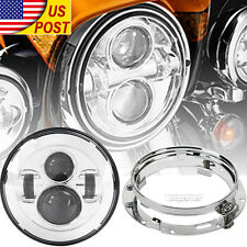 "7"" LED Daymaker Headlight For H-D Electra Glide Ultra Classic FLHTCU NEW US"