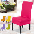 Stretch Spandex Kitchen Bar Restaurant Chair Covers Protector Slipcover Decor