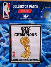 Official San Antonio Spurs 2014 NBA Championship Iron or Sew on Banner Patch