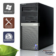 Dell Optiplex 960 MT Core 2 Duo E8400 3.0GHz 4GB 160GB Win 7 Pro 1 Yr Wty